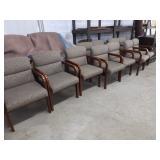 """""""Kimball"""" arm chairs"""