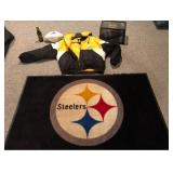 Lot of Steeler Memorabilia with an Autographed Ball Reshard Mendenhall