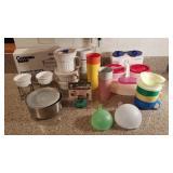 Tupperware and Corningware