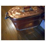 Copper wash pot