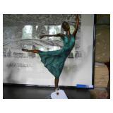 Bronze balerina