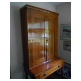 handmade cherry plantation desk
