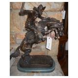 Bronze bronco buster