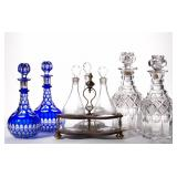 Over 200 18th & 19th century decanters - part two of the Arden collection