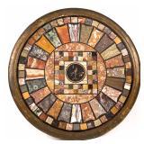 Classical center table (c. 1825) pietra dura top