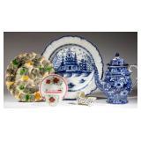 Sample of 18th and 19th century English ceramics