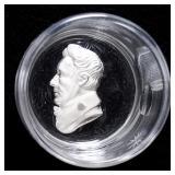 Detail of Andrew Jackson sulphide