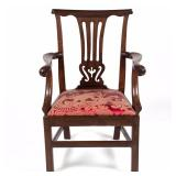 Virginia or Maryland Chippendale armchair
