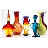 The Col. Frederick Hornick, Hedgesville, WV collection of Blenko glass (300+ pieces) including rare