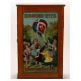 Country store and advertising, including Diamond Dyes cabinets