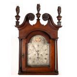 Barwell clock detail
