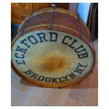 1865 Brooklyn Baseball Drum