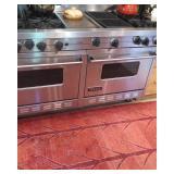 Viking 8 burner double oven stove
