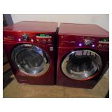 Working LG Direct Drive Washer Dryer Set - current bid $300