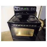 Working GE TrueTemp Range Oven - current bid $25