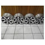 (4) Like-New Toyota 17-inch Rims - current bid $65