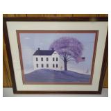 American Folk Painting by Warren Kimble - current bid $10