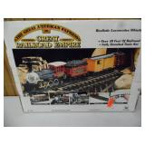 Great American Express Model Train Set - current bid $15