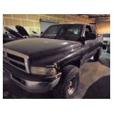 2001 Dodge Ram 1500 Lifted Truck - Runs - current bid $550
