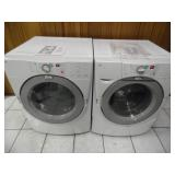 Working Whirlpool Duet Washer Dryer Set - current bid $225