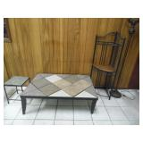 Group of Wrought Iron Furniture - current bid $10
