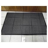 Commercial Rubber Floor Mat - current bid $10
