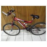 Like New Ozone 500 Adult Ultra Shock Bike - current bid $20