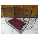 Heavy Duty Dog Crate - current bid $10