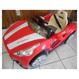 Maserati Cabrio Power Wheels - current bid $10