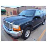 2001 Ford Excursion XLT - Runs - current bid $800