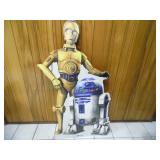 Star Wars C3PO & R2D2 Cardboard Cutout - current bid $10