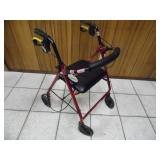 Drive Medical Dual Function Wheelchair Walker - current bid $15