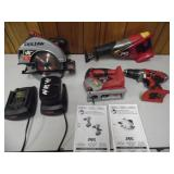 Group of Working Skilsaw Power Tools - current bid $15