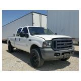 2007 Ford Super Duty 4x4 - runs - current bid $4000