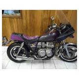 1981 Honda CB650 C Motorcycle - current bid $425