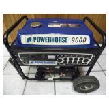 Powerhorse 9000 Portable Generator - current bid $105