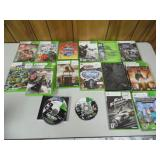 Group of 19 Xbox Games - current bid $10