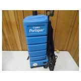 Working Castex Portapac Vacuum Cleaner - current bid $10