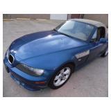2000 BMW Z3 2.3 Convertible - Runs - current bid $1300