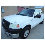 2008 Ford F150 Extended Cab Truck - Runs - current bid $1500