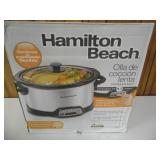 Factory Sealed Hamilton Beach Slow Cooker - current bid $10