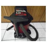 Working Craftsman 5.25 HP Shop Vac - current bid $10