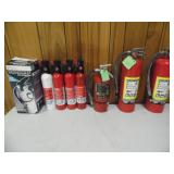 (7) Fire Extinguishers - current bid $15