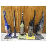 (5) Vacuum Cleaners - current bid $10