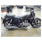 1981 Honda Gold Wing GL1100 Motorcycle - current bid $125