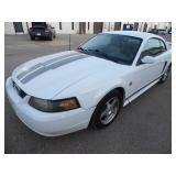 2004 Ford Mustang 40th Anniversary 111k miles - Runs - current bid $1050
