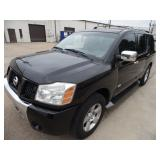 2005 Nissan Armada 4x4 (tuned up) Runs - current bid $775