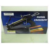 New Factory Sealed 50lb Crossbow Pistol - current bid $10