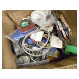 Box of Like New Wire & Misc. Garden - current bid $10