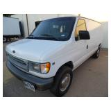 2001 Ford E-250 Van - current bid $425